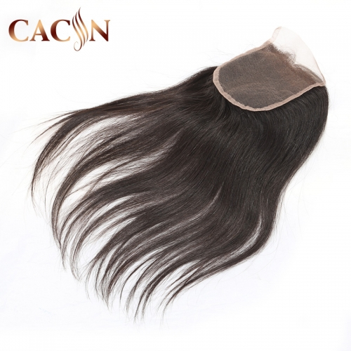 Virgin hair straight lace closure, Brazilian Indian Peruvian and Malaysian hair lace closure